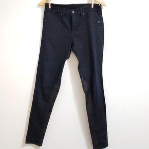 rag & bone Jeans - Rag & Bone | Revolve | Jodhpur Leather Panel Jeans